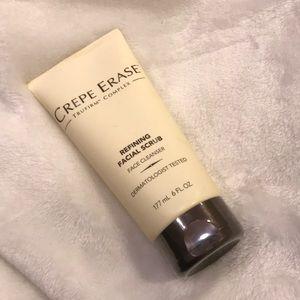 Crepe Erase trufirm complex refining facial scrub